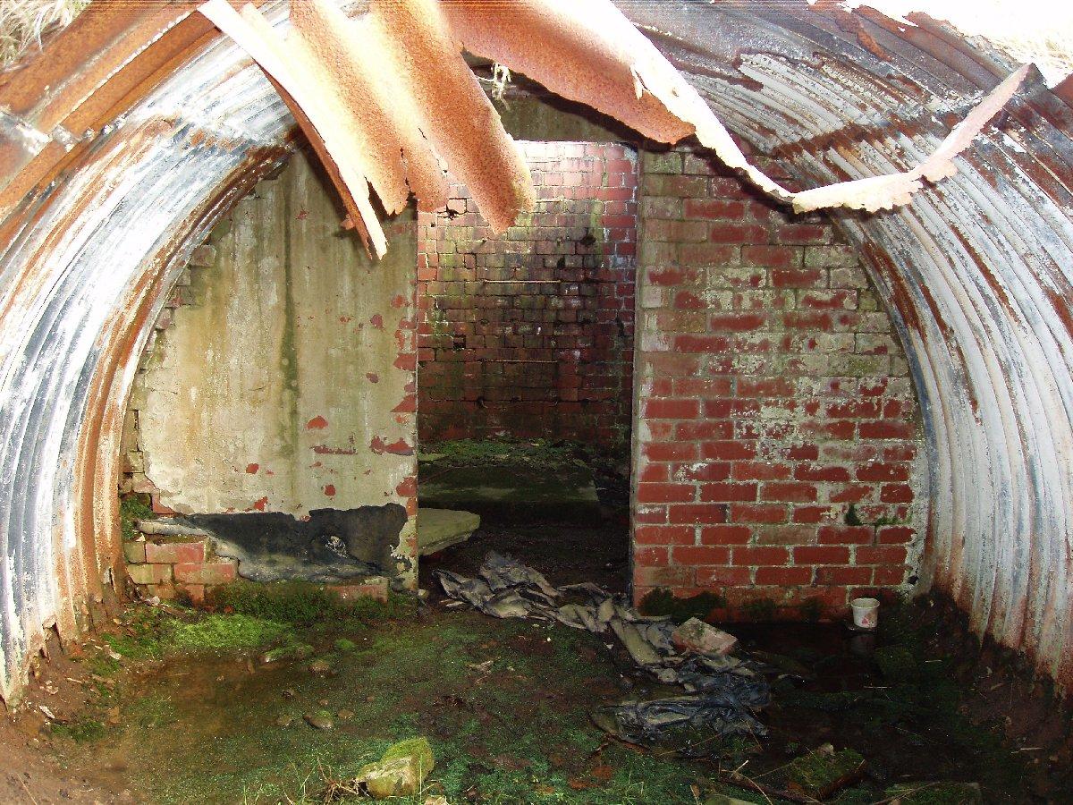 Air Raid Shelter On Ww2 Decoy Airfield Grane Road